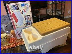 Igloo Little Kool Rest Car Cooler Insert Arm Console Cup Holder Ice Chest GREAT