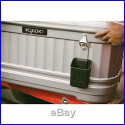 Igloo Locking Caster Bottle Opener Cap Bin Pool Bbq Home Beach Cooler Party Bar