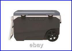 Igloo MaxCold Latitude Cooler 90 qt. Blue/Gray Case Of 1
