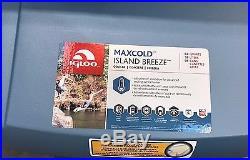 Igloo Maxcold 62 Qt Rolling Cooler ISLAND BREEZE Roller