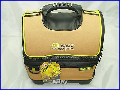 Igloo Maxcold Workman's Meal To Go Soft Cooler 24 Can Capacity Hard Bottom