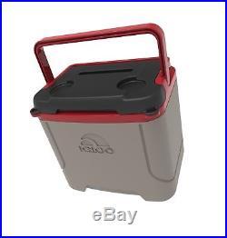 Igloo Profile 16 quart Cooler Sandstone/ Blaze Red