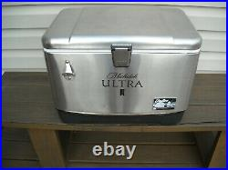 Igloo Stainless Steel Michelob Ultra Cooler