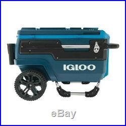 Igloo Trailmate Cooler Journey, 70 Qt, Slate Blue/Agama-Teal