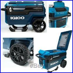 Igloo Trailmate Cooler Journey, 70 Qt, Slate Blue/Agama-Teal NEW