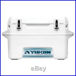 Igloo Yukon 44666 White Heavy Duty 50 Quart Cold Locker Cooler with Work Space