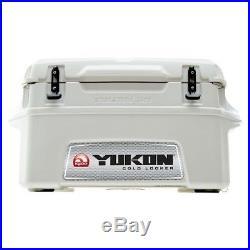 Igloo Yukon 50 Qt White 7 day Cold Locker Cooler Free Shipping Retail $299