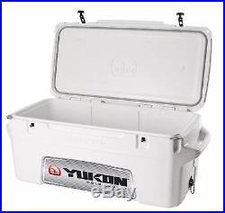 Igloo Yukon Cold Locker Cooler with Dual lid locks, 50-Quart Capacity White New