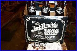 Jack Daniels amber lager six pack 1866 clasic