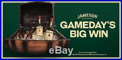 Jameson Irish Whiskey Barrel Beverage Cooler With Metal Stand St Patrick's Day NIB