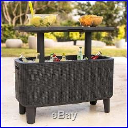 Keter Bevy Party Bar Table and Cooler Combo @@