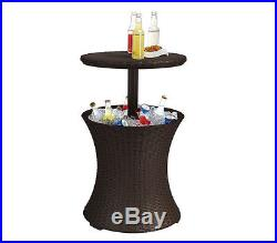 Keter Rattan Cool Bar Party Table Cooler NEW
