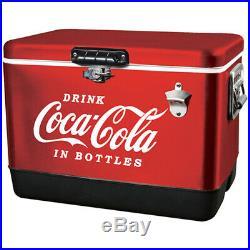 Koolatron Coca-Cola Cooler 54 qt. Red
