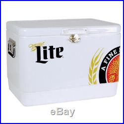 Koolatron Miller Lite Cooler 54 qt. White