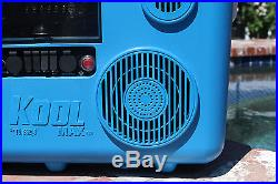 Koolmax Tunes2Go 40 QT Orange Cooler Stereo & Bluetooth Audio Speakers CA-E065O
