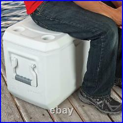 Large 120 Quart Coleman Cooler Cold Ice Chest Insulated Fishing Holds 204 Cans
