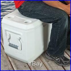 Large Coleman Cooler 120 Quart Cold Ice Chest Insulated Fishing Xtreme White New