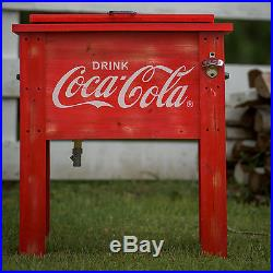 Leigh Country 54 Qt. Coca-Cola Country Patio Cooler