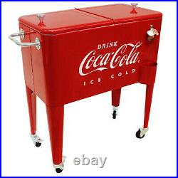 Leigh Country 60 Qt. Coca-Cola Embossed Ice Cold Cooler