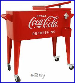 Leigh Country 80-Quart Retro Vintage Classic Coca-Cola Cooler Party BBQ Tailgate