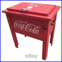 Leigh Country Coca-Cola Vintage 54 Qt. Cooler, Red