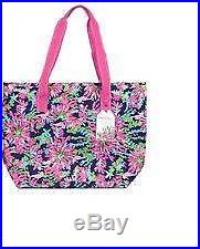 Lilly PULITZER TRIPPIN & SIPPIN Insulated Cooler Beach Bag NWT keep drinks cold