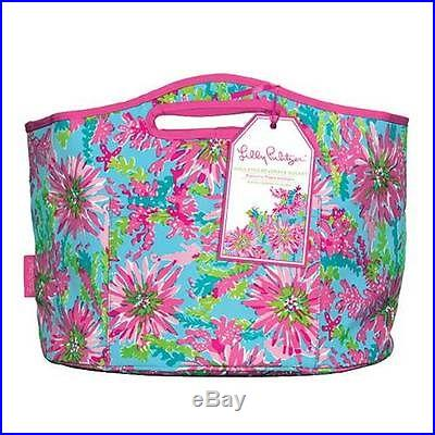 Lilly PULITZER TRIPPIN & SIPPIN LG BEVERAGE BUCKET Insulated beach Cooler NWT