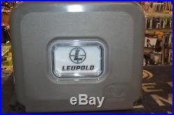 Lit TS300 22 Qt LED LIT Leupold Branded Cooler Tan / Brown