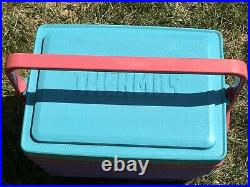 Lot Of 3 THERMOS Purple Pink Teal 55 Cooler + Drink Dispenser + Personal Cooler