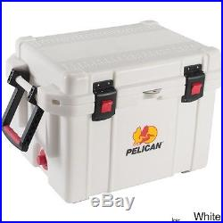 Marine Cooler Boat Camping Fishing Handle Ice Chest 35 Quart White Portable NEW