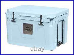 Monoprice Emperor 25 Liter Cooler Securely Sealed Blue Pure Outdoor