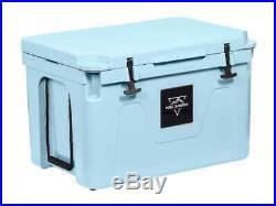 Monoprice Emperor 80 Liter Cooler Securely Sealed Blue Pure Outdoor