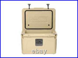 Monoprice Emperor Cooler, 50 Liter, Tan, Securely Sealed, Hot & Cold Conditions