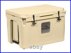 Monoprice Emperor Cooler, 80 Liter, Tan, Securely Sealed, Hot & Cold Conditions