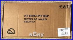 NEW Igloo 94qt Marine Ultra/Super Tough Cooler, Lid Ruler, Strong Latches