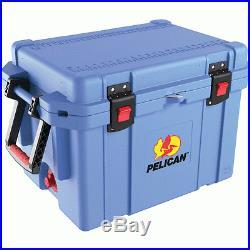 NEW PELICAN 32-45Q-CC-LTBLU 45-quart Progear Elite Cooler (light Blue)