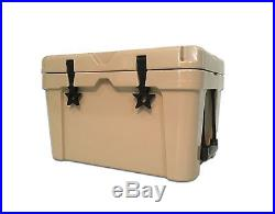 NEW TAN 65L RotoMolded Coolers Yeti, RTIC Style Cooler Slate Gear Cooler