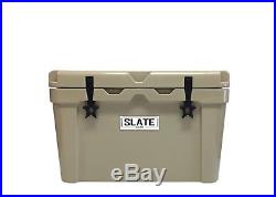 NEW Tan Slate Gear 30 quart Roto-Molded Cooler YETI, RTIC Style Cooler