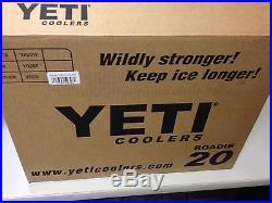 NEW! YETI Roadie 20 Quart Cooler Blue