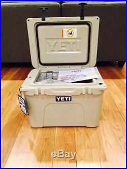 NEW YETI TUNDRA 35 QUART COOLER DESERT TAN YT35T