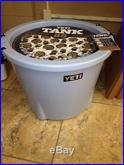 NEW! YETI Tank Blue 85 QT