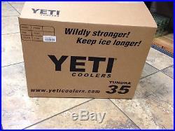NEW! YETI Tundra 35 Quart Cooler Blue