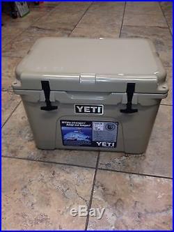 NEW! YETI Tundra 35 Quart Cooler Tan