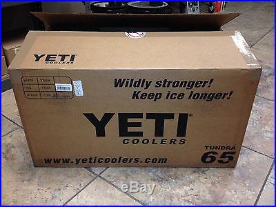 NEW! YETI Tundra 65 Quart Cooler Tan