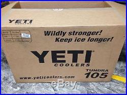 NEW! YETI Tundra Cooler 105 Quart Tan
