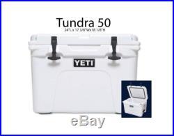 NEW! YETI Tundra Cooler 50 Quart White