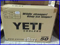 NEW! YETI Tundra Cooler 50 White