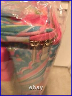 NIB Lilly Pulitzer GWP Rolling Cooler Carnivals Coral Free Shipping
