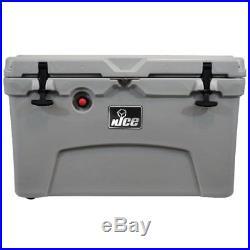NICE Premium G2 Gray 45 Qt. Rotomolded Cooler