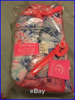 NWT Lilly Pulitzer Beach Cooler Backpack GWP Sea To Shining Sea Free Shipping